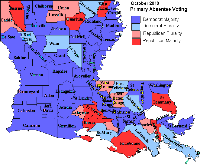 Soundbites About Todays Primary Election In Louisiana