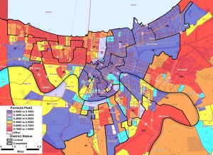 2004 Presidential Race - New Orleans
