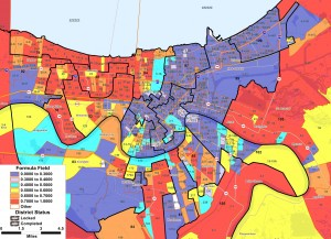 2008 Presidential Race - New Orleans