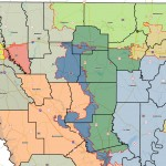 Detailed Republican map for North Louisiana
