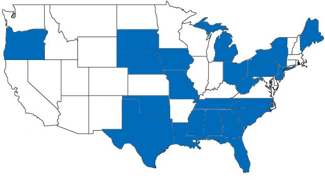 JMC map of states